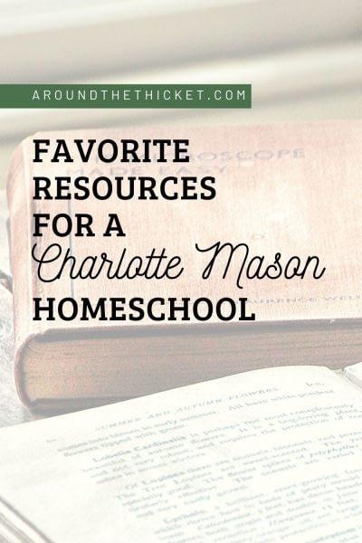 charlotte mason homeschool resources