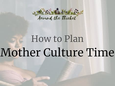 How to Plan Mother Culture Time