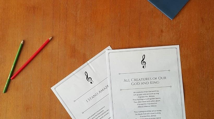 teach homeschool hymns and songs