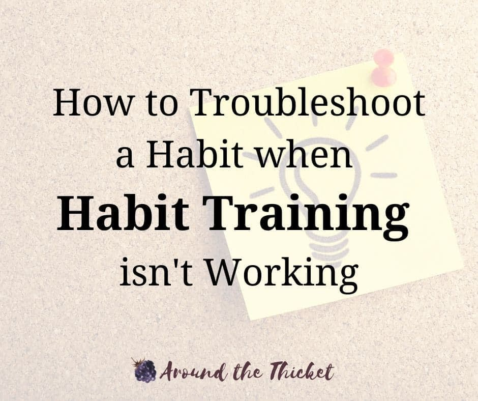charlotte mason habit training