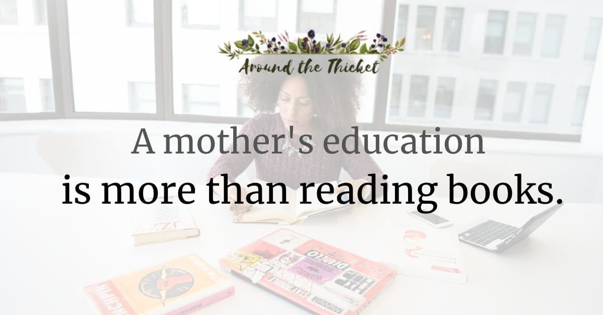 mother's education more than books